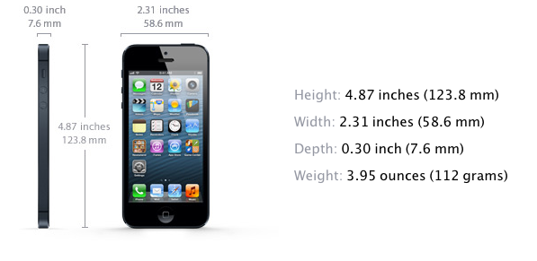 Apple announces iPhone 5, bigger screen, 2X speed A6, aluminum and glass 'best phone ever'
