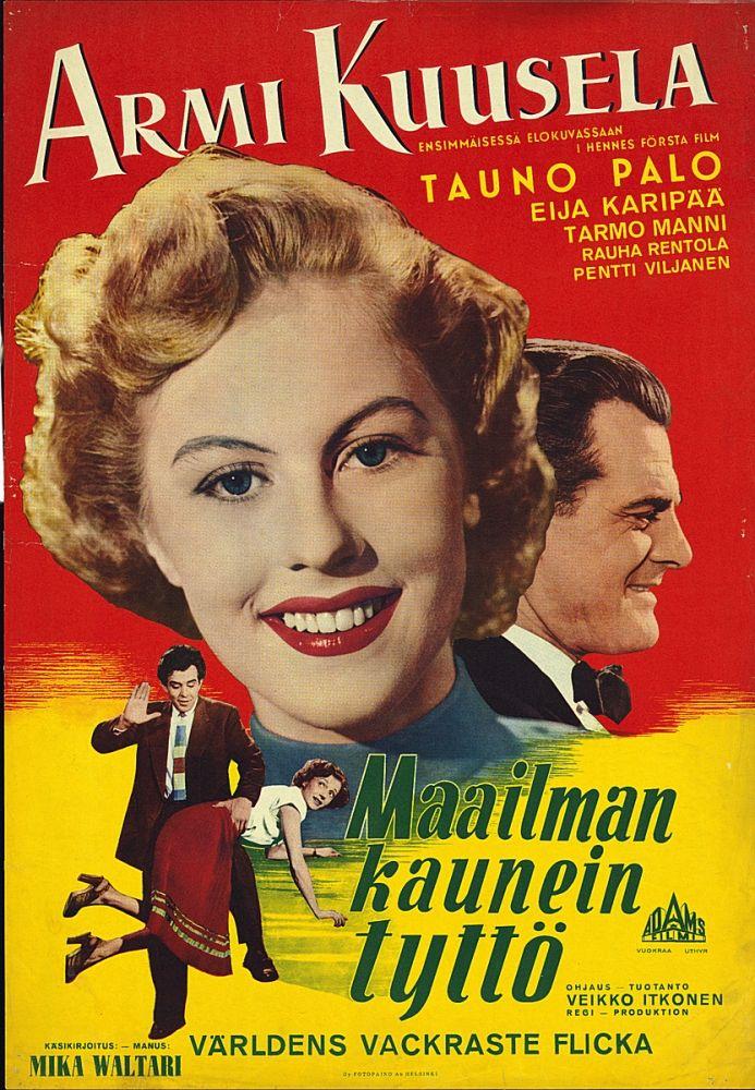 Maailman kaunein tyttö (1953)