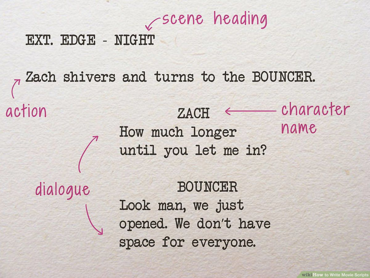 How to Write Movie Scripts like a Professional Writer in