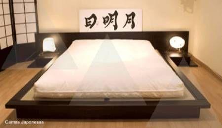 Cama japonesa camas cama japonesa camas y decoraci n - Somier japones ...