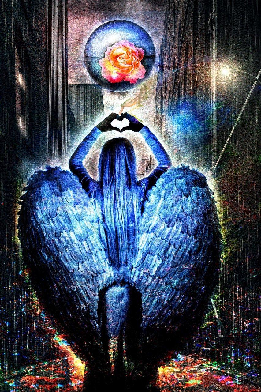 Angel card reading tarot deck oracle deck angelic