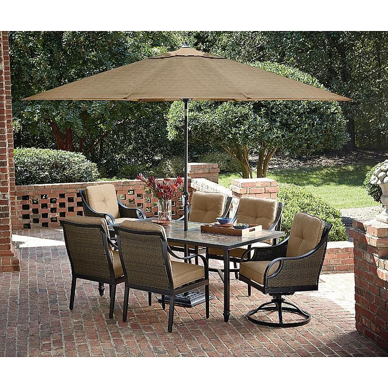 La Z Boy Outdoor DCHL 7PC Charlotte 7 Piece Dining SetLa Z Boy Outdoor DCHL  7PC Charlotte 7 Piece Dining Set Sears