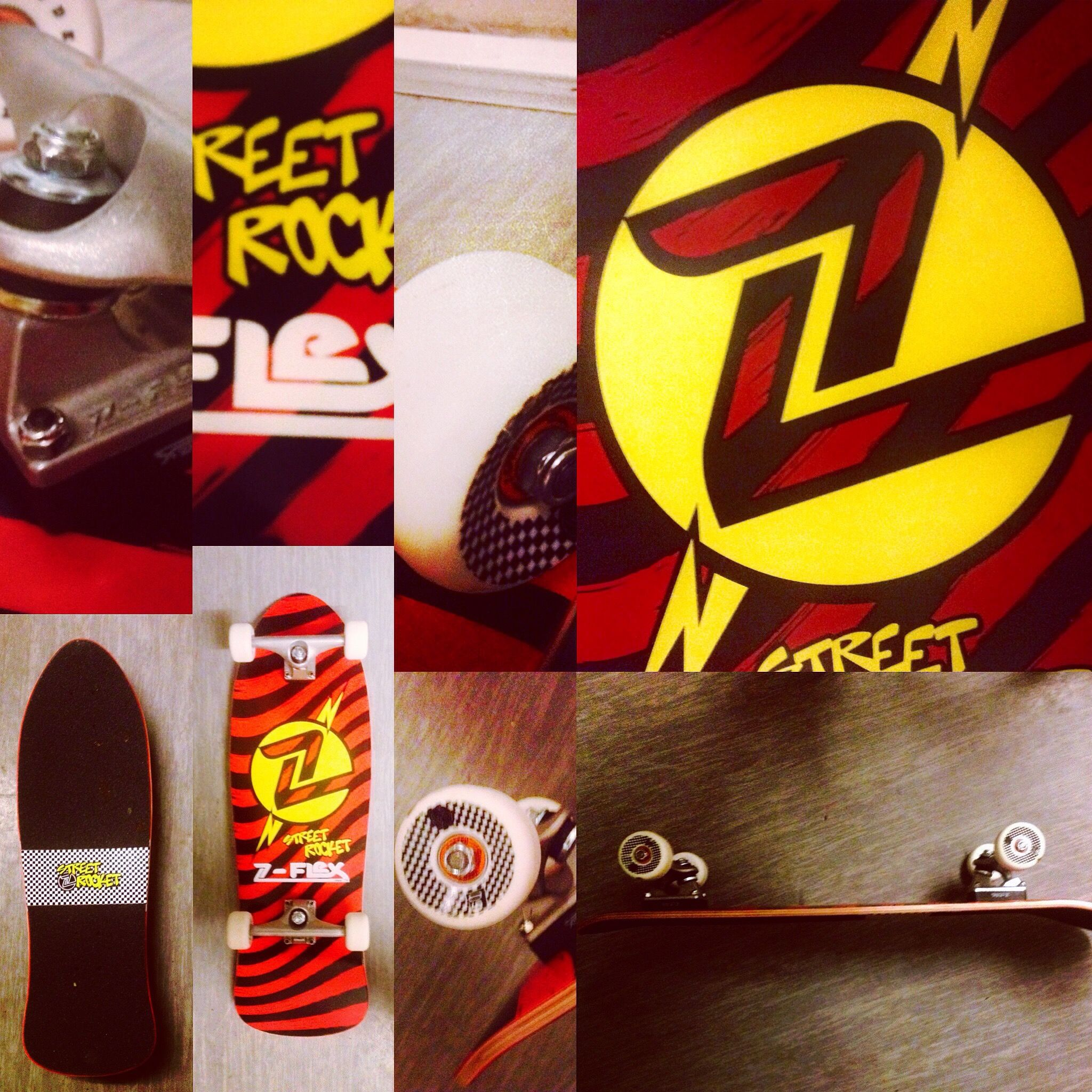 Carters New Z-Flex Skateboard!