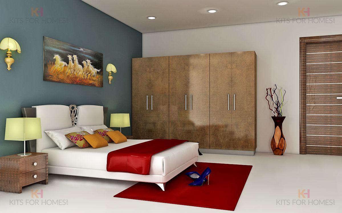 6 Door Wardrobe In Textured Brown Wardrobe In Mdf With 6 Soft Close Shutters In High Gloss Laminate Lacquere Modern Interior Design Interior Design Home Decor