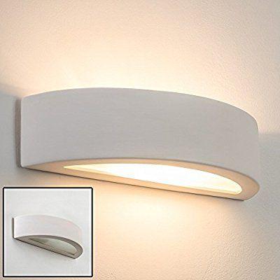 Wall Lamp Design Ceramic Up Down Lighting Paintable