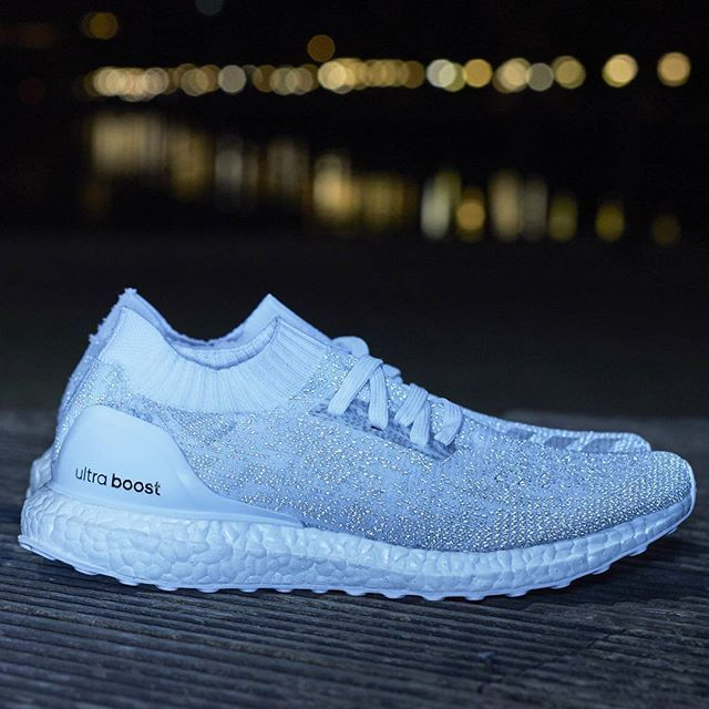 5dff1c1af6ac8 Dominate the dark in the white reflective  UltraBOOST Uncaged LTD.  Available in the US   Asia at adidas.com ultraboost and select retailers.  October 26th.