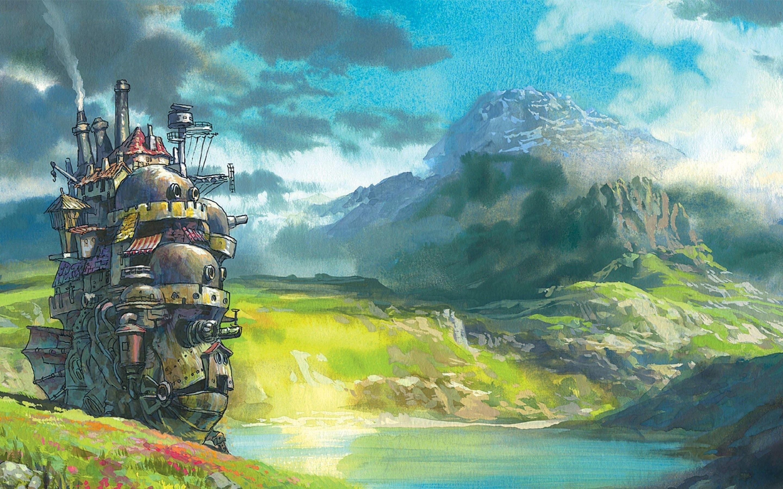 Wallpaper Del Dia Le Chateau Ambulant Miyazaki Hauru