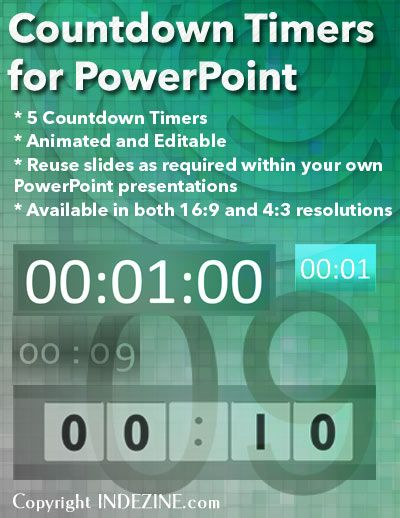 countdown timers for powerpoint powerpoint concepts pinterest