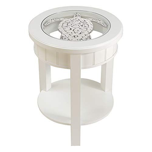 Best Seahaven Accent Table Turtle White Coastal Bedrooms 640 x 480