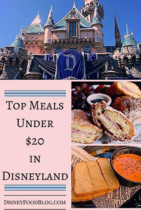 Photo of Top Meals Under $20 in Disneyland