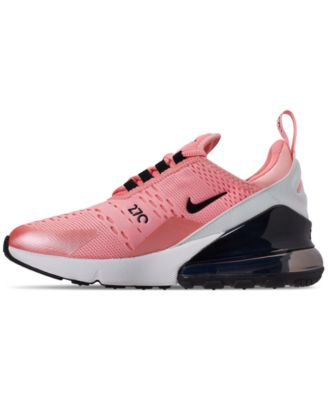 4c0b005f86 Nike Girls' Air Max 270 Valentine's Day Casual Sneakers from Finish Line -  Red 4
