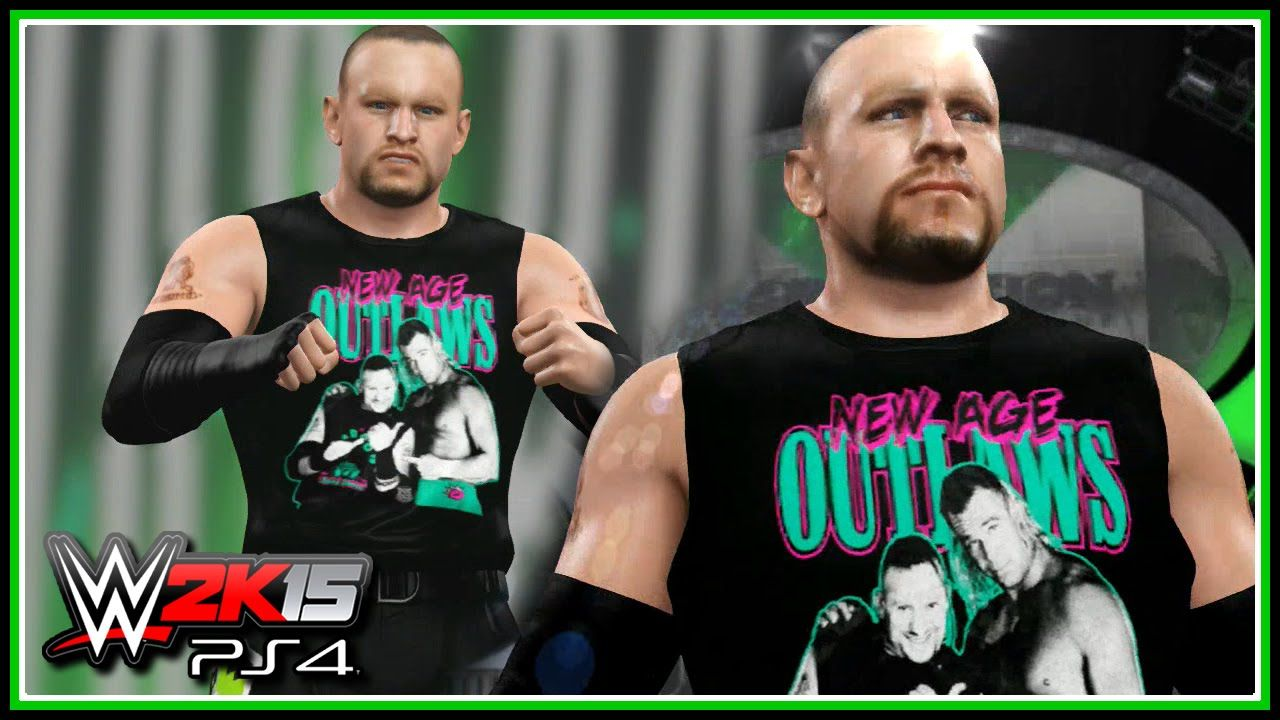 WWE 2K15 PS4 XB1 Road Dogg New Age Outlaws Attire