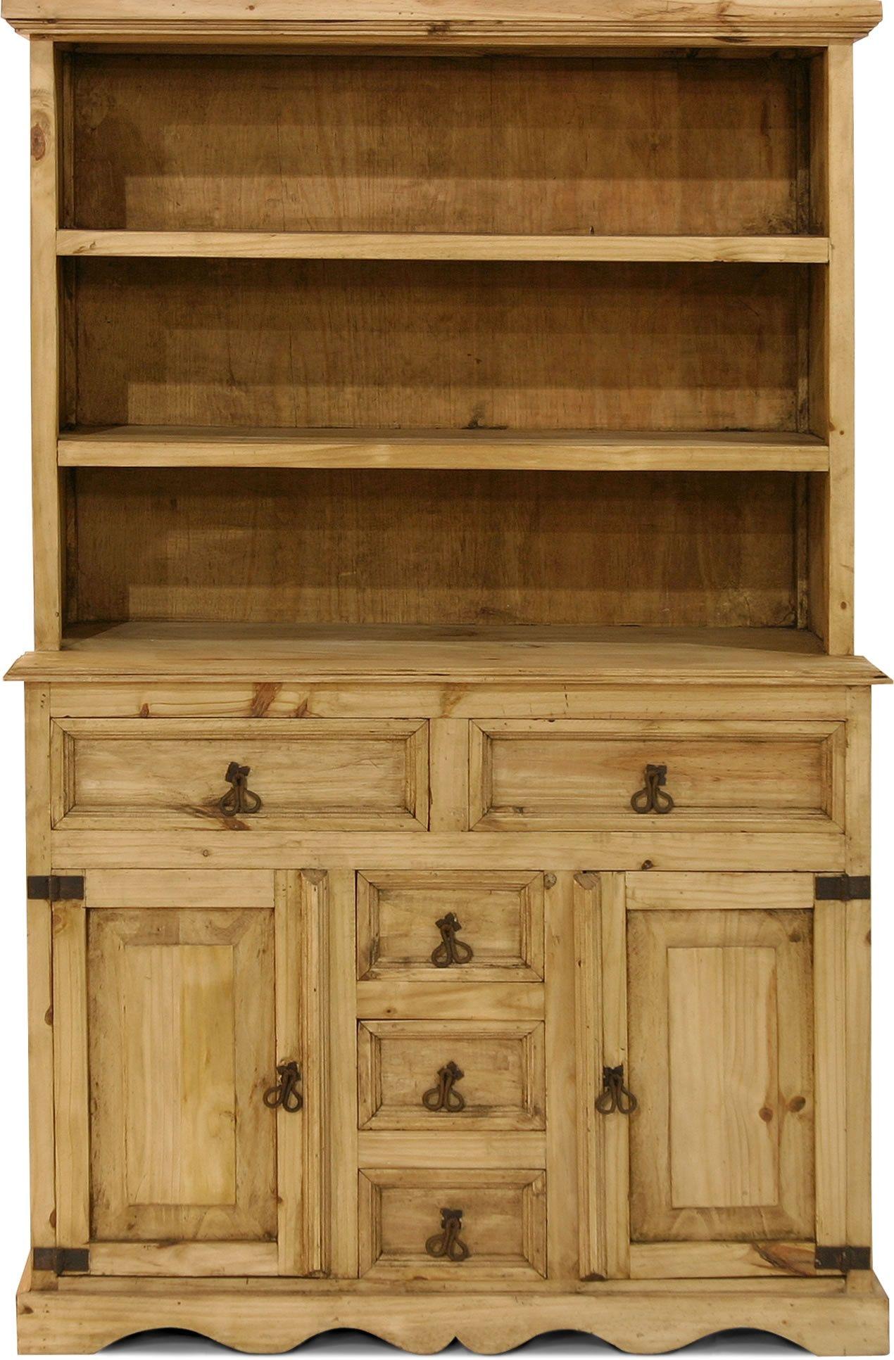 Picture of Gonzalez Rustic Furniture Rustic Look Western Pine ...