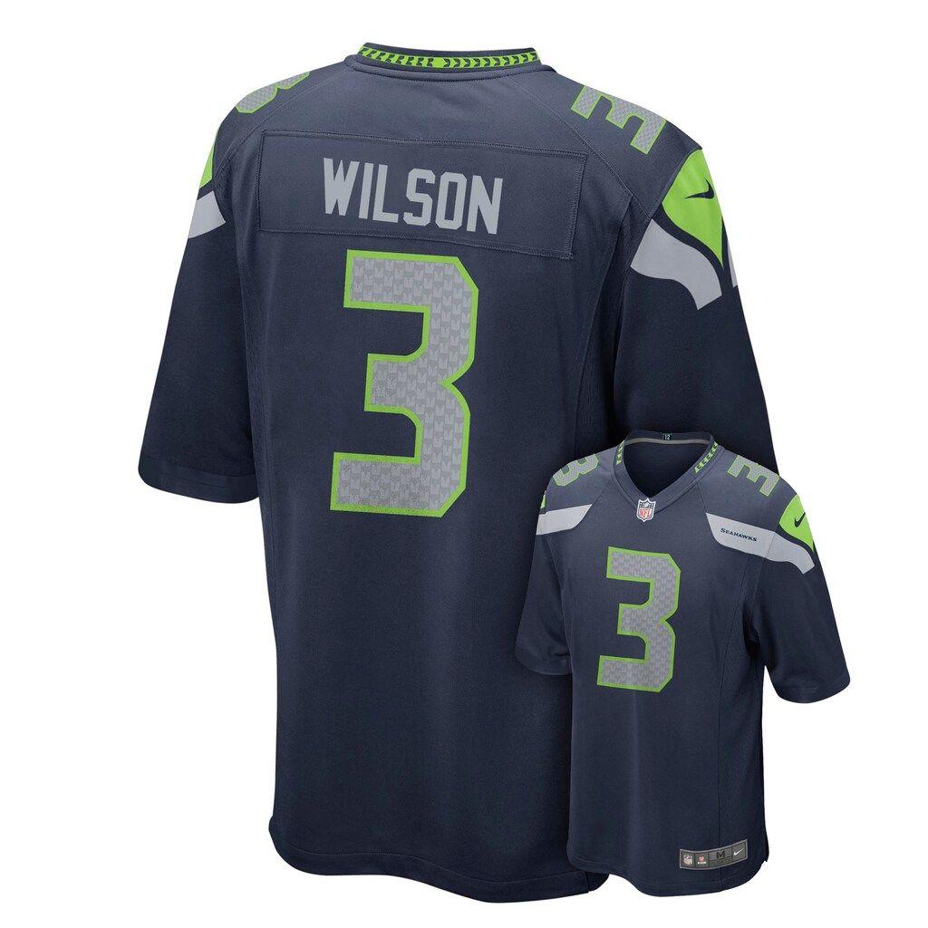 Boys 8-20 Nike Seattle Seahawks Russell Wilson Game NFL Replica ...