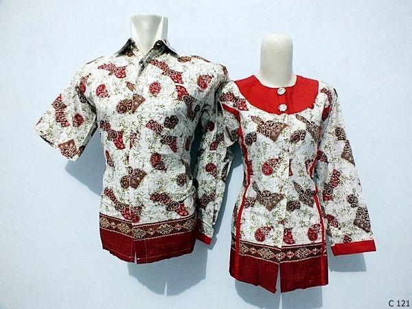 Baju Batik  Batik  Pinterest  Model baju batik Contoh model