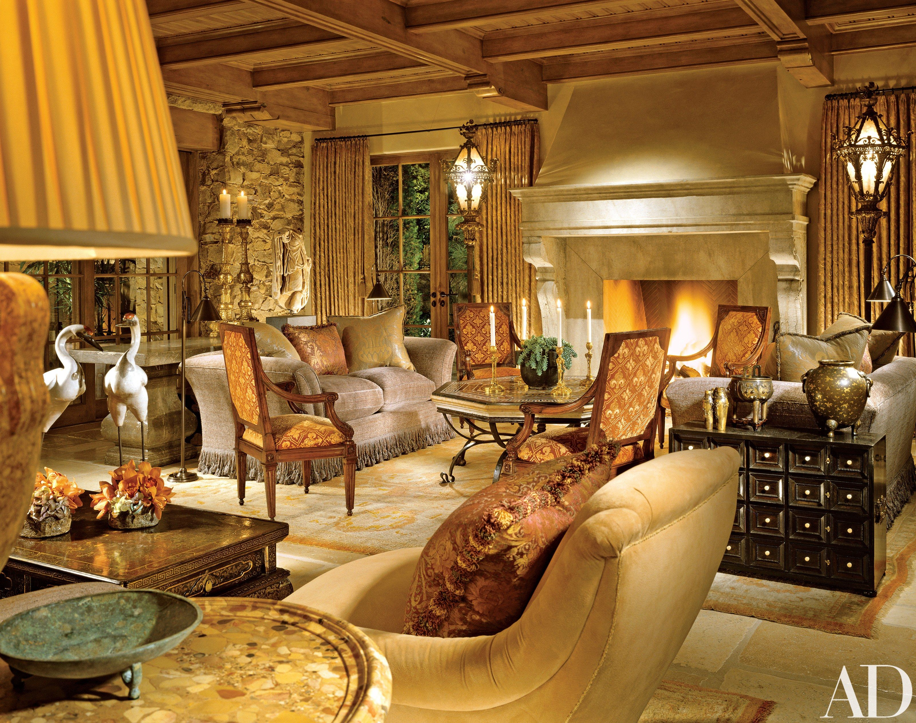 Richard Landry Creates a Tuscan-Inspired California Home ...