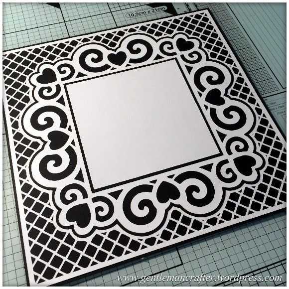 Scan It Saturday – Swirly Heart Frame Cutting File For The Brother ...