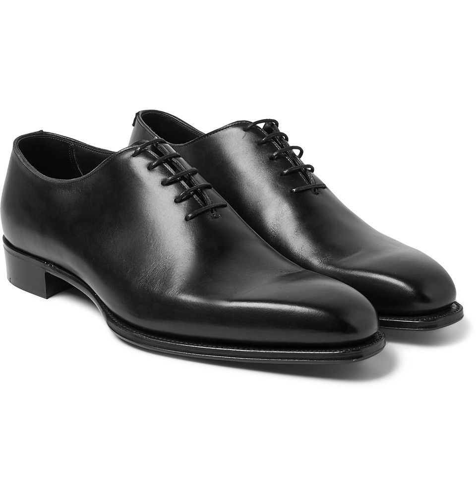 Kingsman - + George Cleverley James Whole-Cut Leather Oxford Shoes