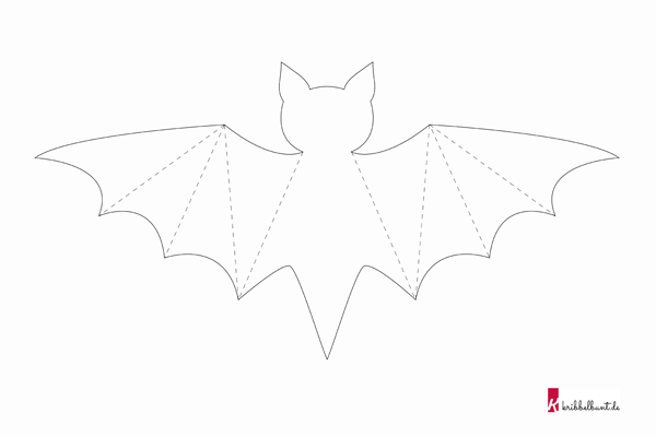 Fledermaus Basteln Fledermaus Basteln Fledermaus Vorlage Halloween Vorlagen Ausdrucken