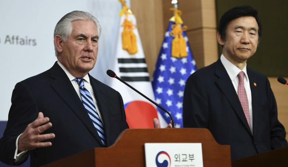 North korea threat nuclear war if us south korea fire