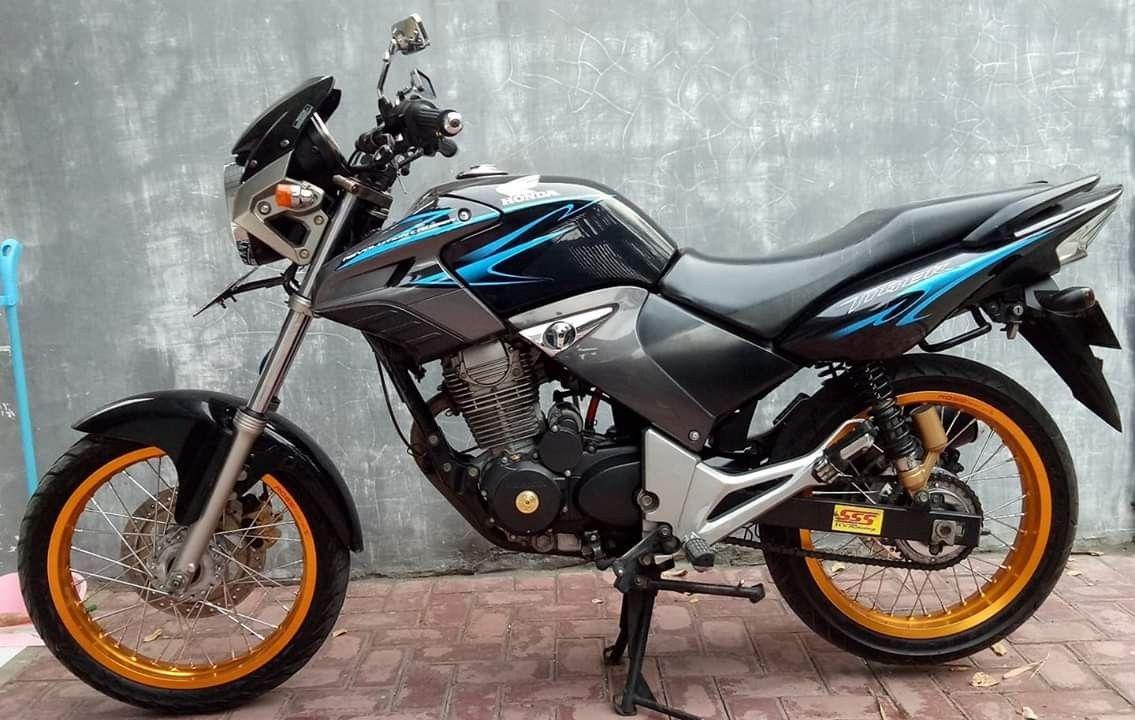 Tiger Revo 2013 Motor Jalanan Motor Desain Furnitur