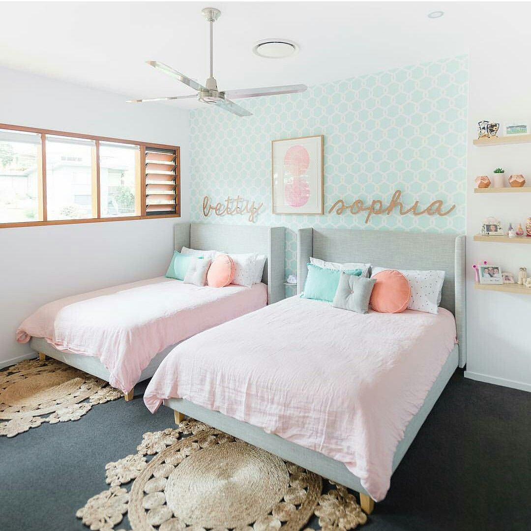 girley room i ideas twin girl bedrooms shared girls on cute girls bedroom ideas for small rooms easy and fun decorating id=75477