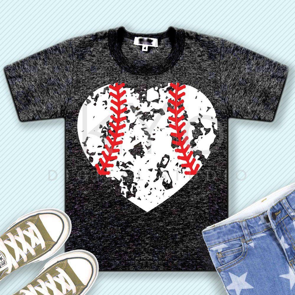 Download Distressed baseball heart svg distressed heart svg grunge ...