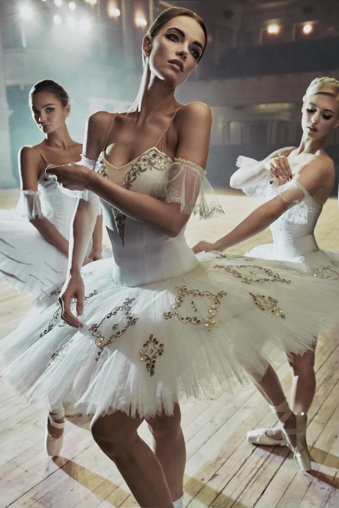 Russian Ballerinas Portraits