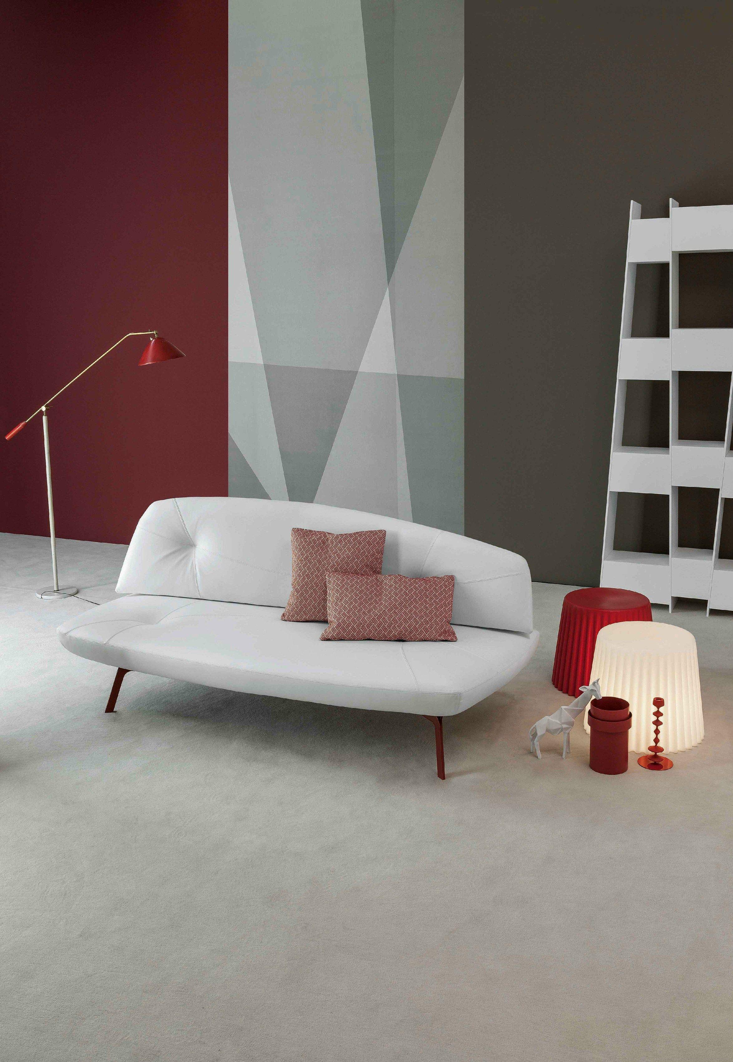 Divano letto trasformabile in tessuto BANDY by Bonaldo   design Pier ...