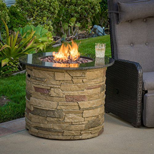 Rogers Outdoor Round Liquid Propane Fire Pit With Lava Ro Https Www Dp B01cpwywng Ref Cm Sw R Pi X B5k Xb8vndnx4