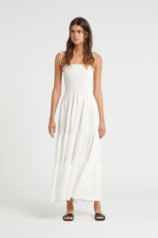 Alena Strapless Maxi Dress Dresses Ruched Maxi Dress Strapless Maxi Dress [ 1500 x 1000 Pixel ]