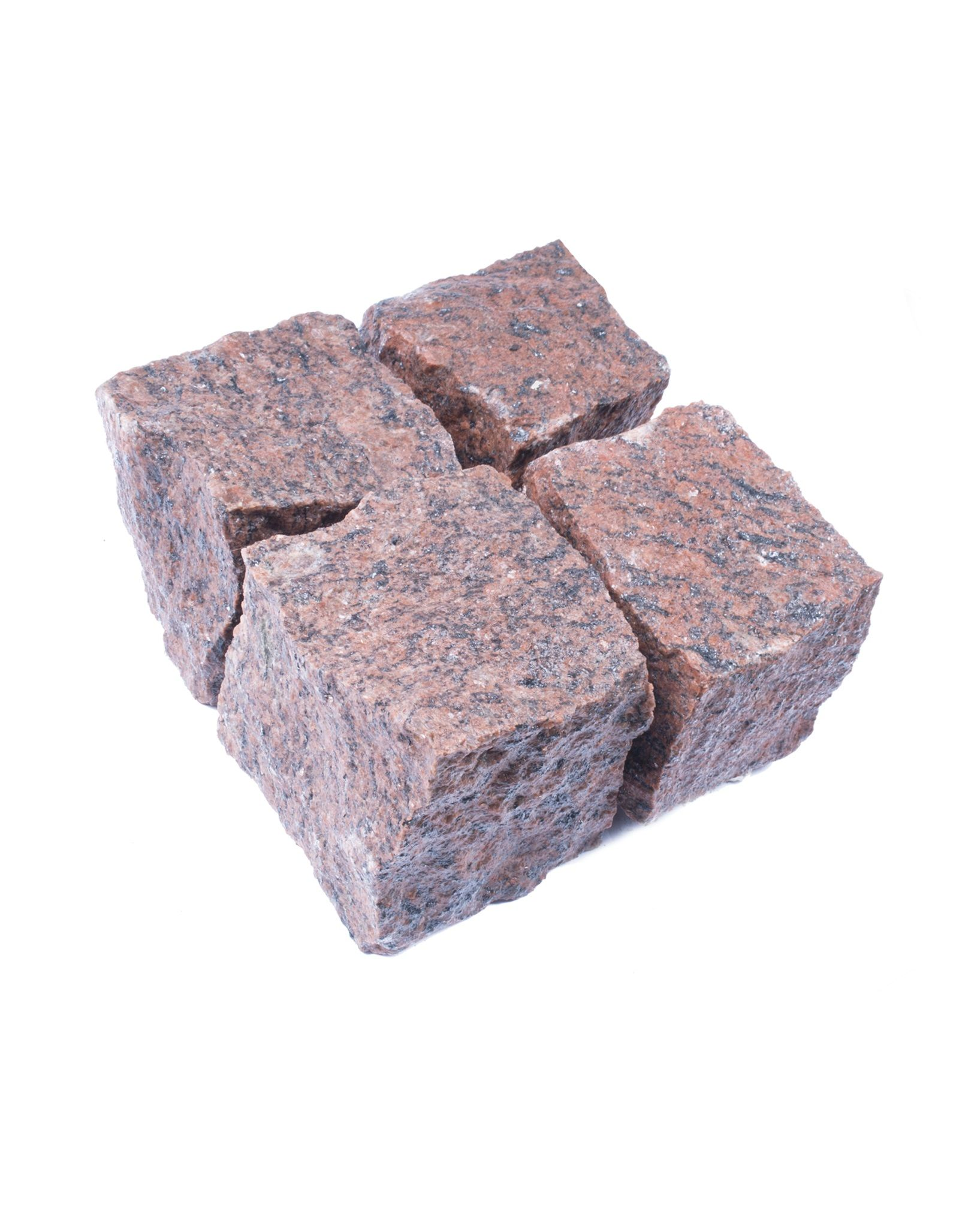 Red Granite Setts Are Imported From Sweden They Stand Out From Similar Products Thanks To Their Vivid Shade Of Garden Slabs Adventurous Design Paving Stones