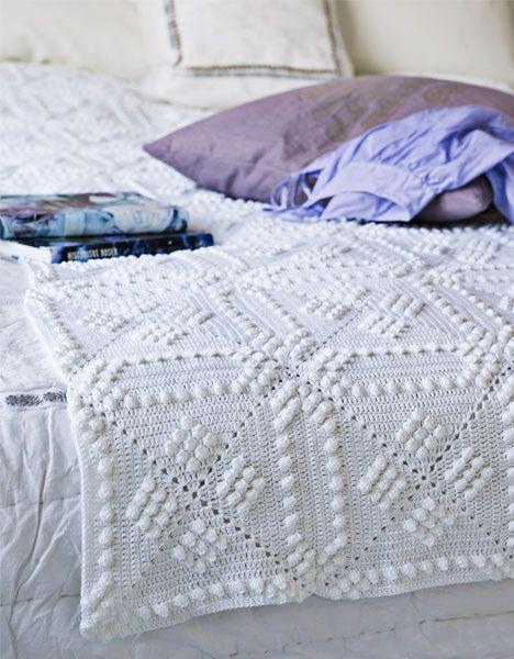 Beautiful free crochet pattern but it\'s written in Dutch! | Dantel ...