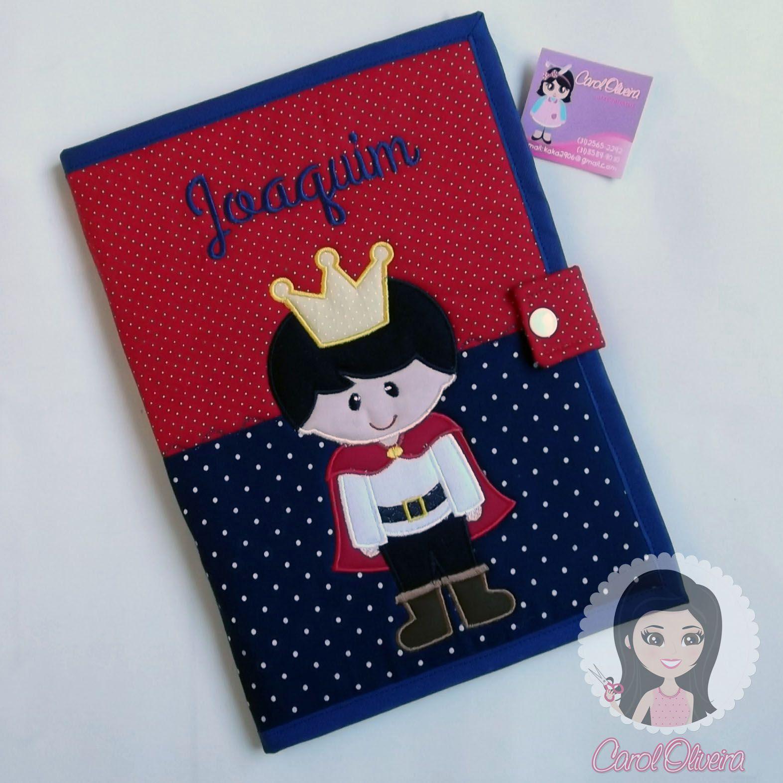 Suficiente Capa de caderneta de vacinas príncipe | Meus trabalhos | Pinterest  MI78