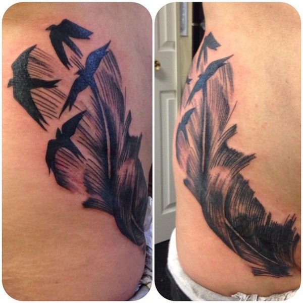 Feather Bird (Name Cover-Up)