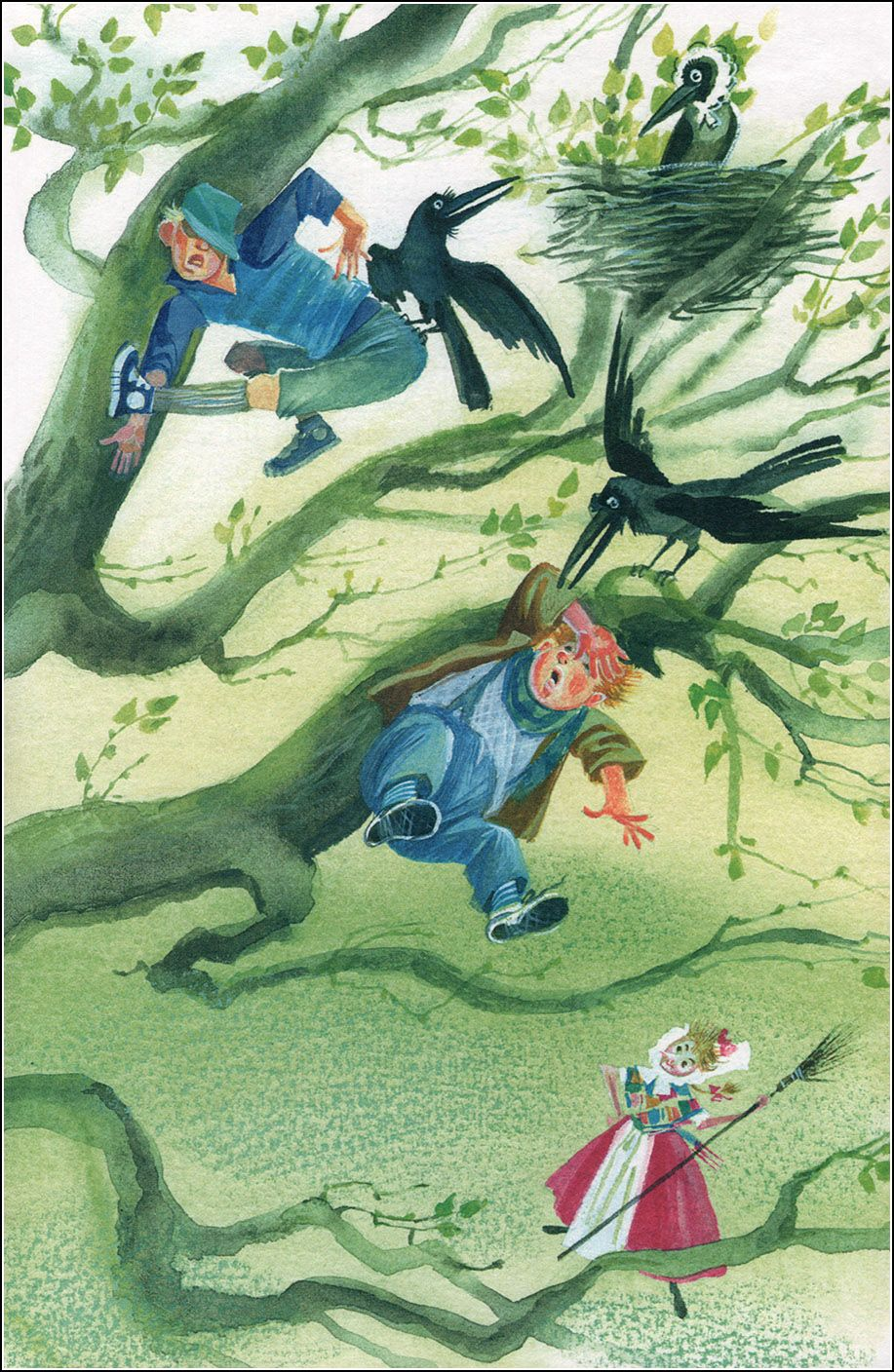 The Little Witch by Otfried Preussler. Illustrations by Nika Goltz