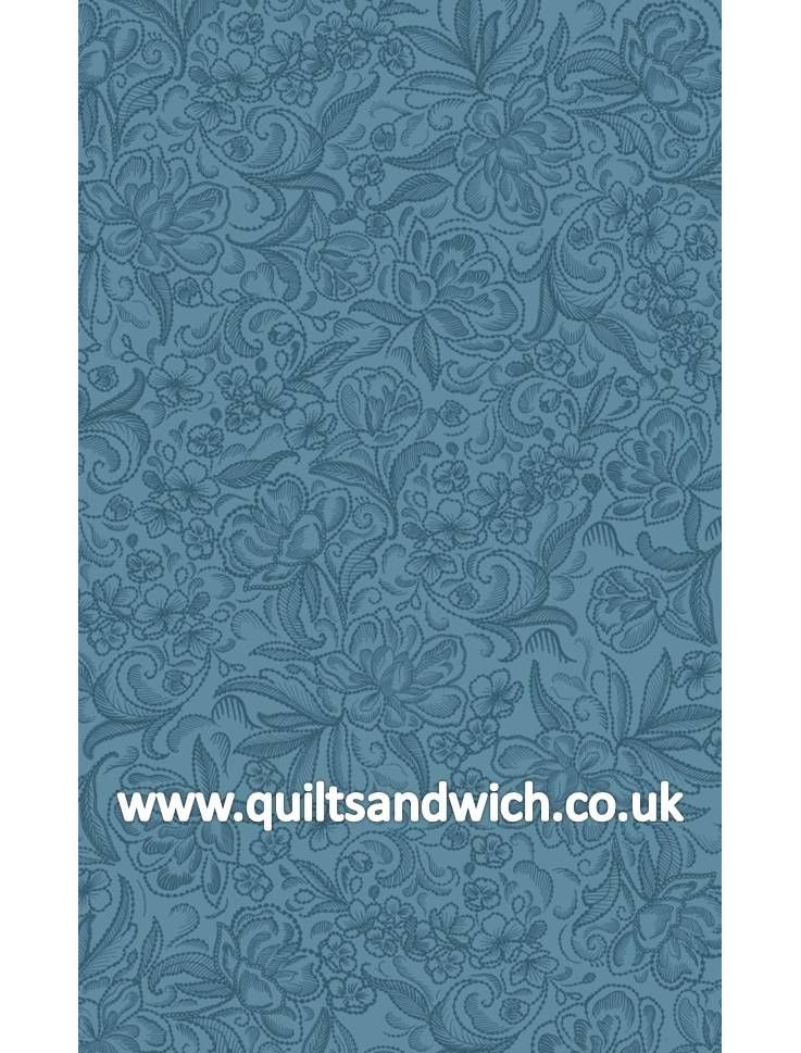Calla Blue Extra Wide Quilt Backing Fabric Quilt Backs Extra