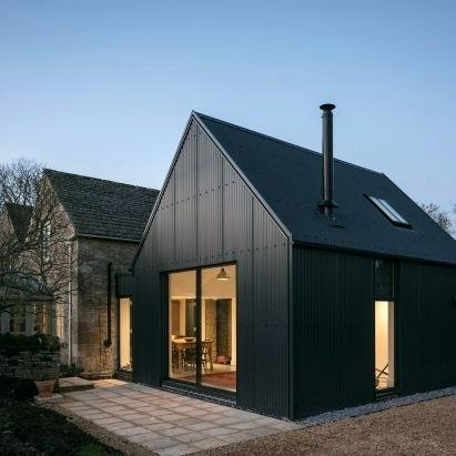 Corrugated Iron House Designs Nz Metal Extension Architects Residential Modern Barn House Barn Style House Cotswolds Cottage