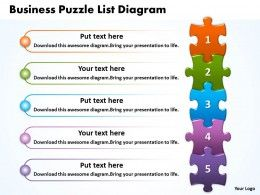 Business puzzle list diagarm powerpoint templates ppt presentation business puzzle list diagarm powerpoint templates ppt presentation slides 0812 ccuart Choice Image