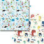 Foldable Baby Developing Playmat Cartoon Toys Acti