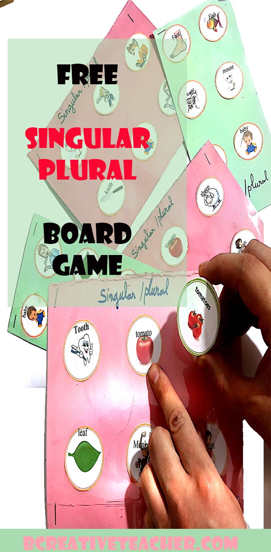 Irregular Plurals Free Board Games Enjoy Teaching Using This Amazing Game For Beginners Plurals Singular And Plural Teaching [ 1500 x 735 Pixel ]