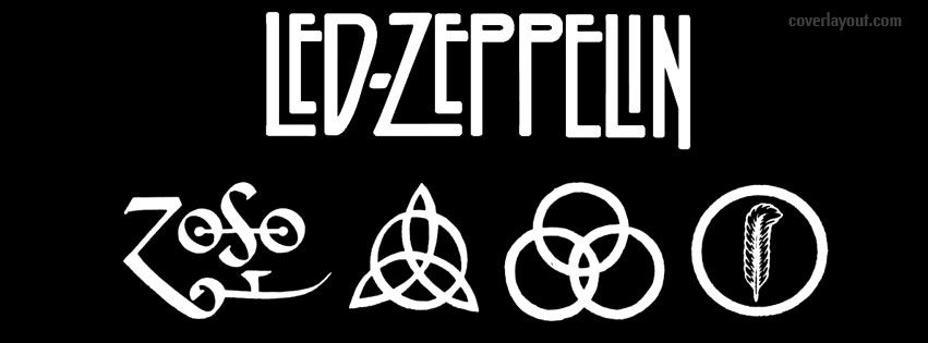 Led Zeppelin Signs Facebook Cover Wallpaper Led Zeppelin Led Zeppelin 1 Zepelim