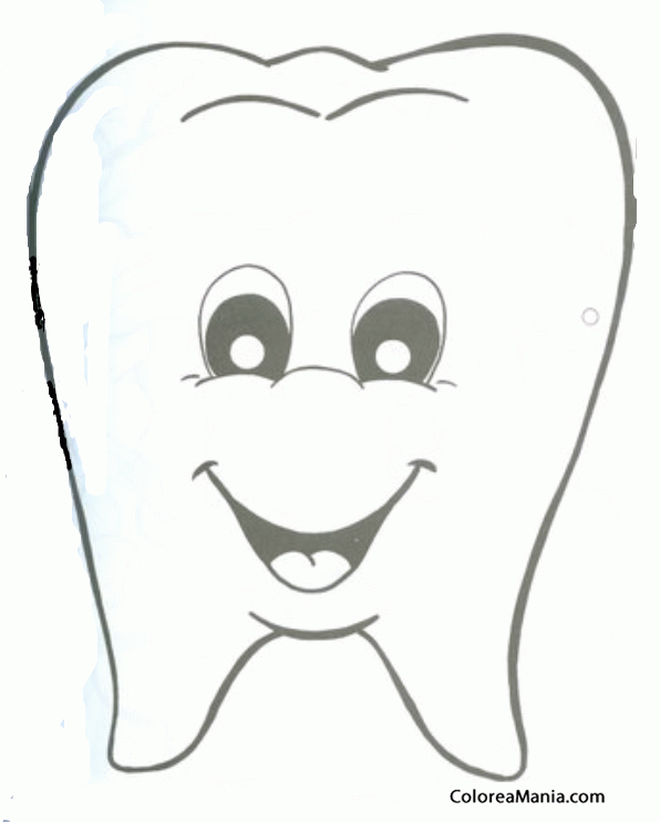 Resultado De Imagen Para Dibujo De Muela Imprimibles Para Preescolar Dibujos Ninos