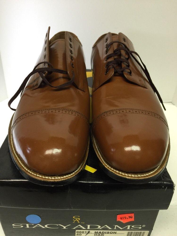 Stacy Adams Madison Oak Dress Shoes US Size 14 EE New Men's 00012 ...