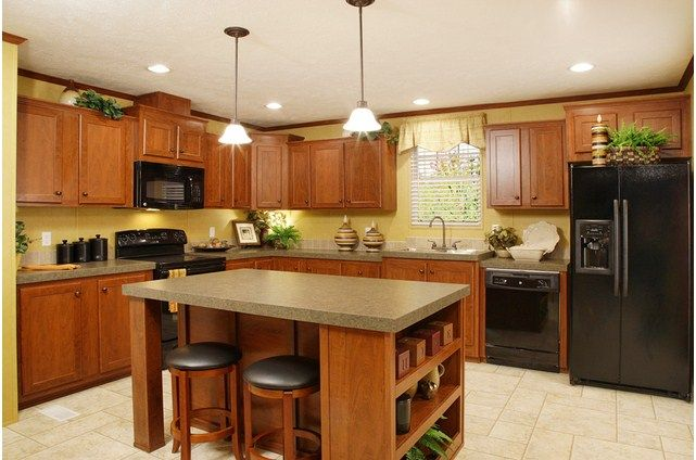 The Summit - 29M023   Mobile home kitchens, Home kitchens ...