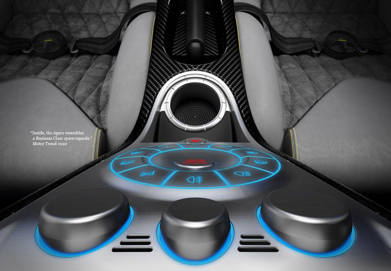 Koenigsegg Agera dashboard