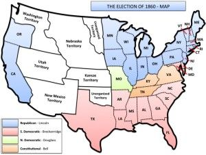 Map For The Election Of US History Maps Pinterest - Us election map history