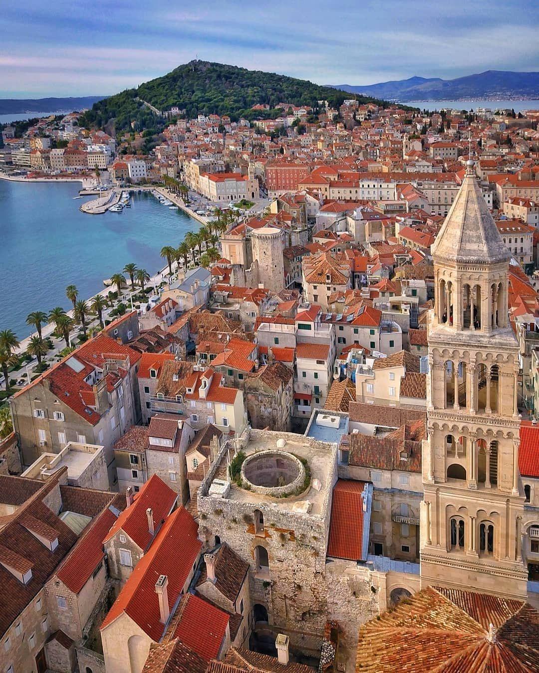 Insta Croatia On Instagram Wonderfull Split Vladfran Croatia Instacroatia Croatiafulloflife Croat Croatia Travel Croatia Croatia Vacation