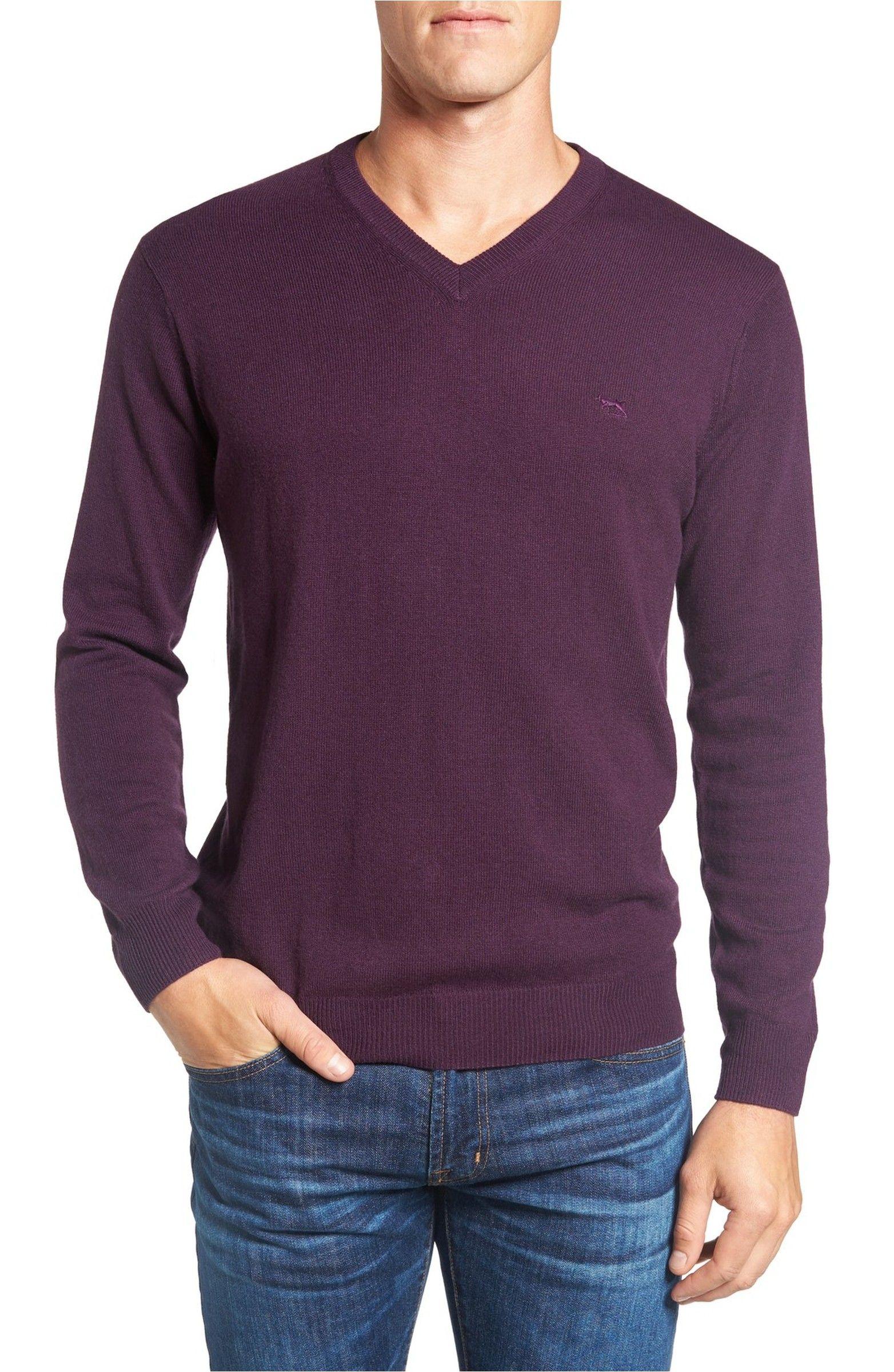 Main Image - Rodd & Gunn 'Inchbonnie' Wool & Cashmere V-Neck Sweater