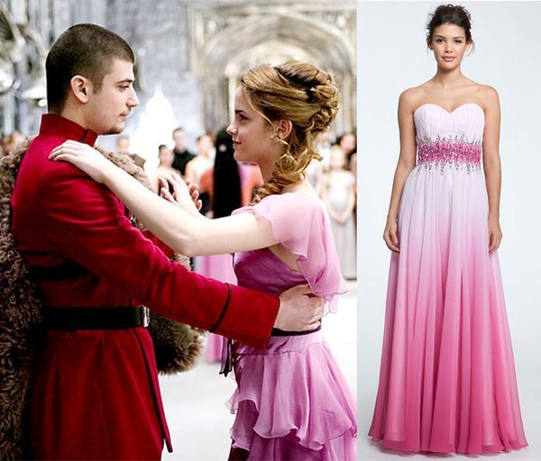A Night at the Movies Prom Edition. Hermione HairHermione DressHermione